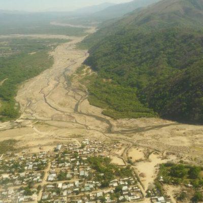 Imagen aerea de rios de la provincia